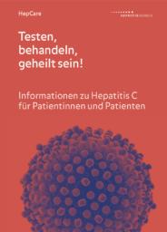 HepCare – Patientenflyer