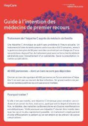 Recommandations pour le suivi des patients atteints d'hépatite C guérie