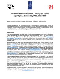 Behandlungsempfehlungen Hepatitis C der medizinischen Fachgesellschaften SASL, SSG und SGINF (Stand: Januar 2021)