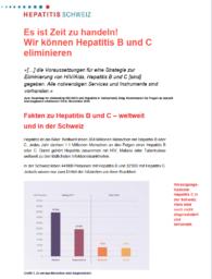 Factsheet Hepatitis B und C