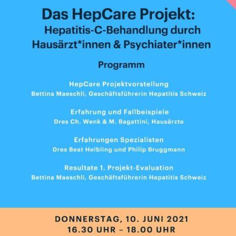 49. Hepnet - Das HepCare Projekt: Hepatitis-C-Behandlung durch Hausärzt*innen & Psychiater*innen